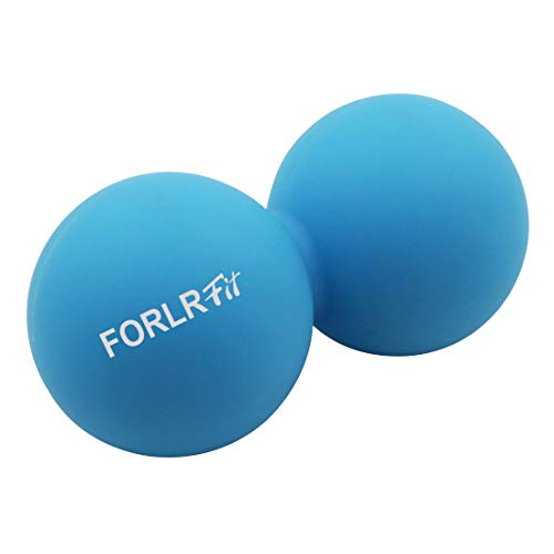 FORLRFIT Double Lacrosse Massage Ball-Peanut Massage Ball & Muscle Roller for Relieving Muscle Pain...