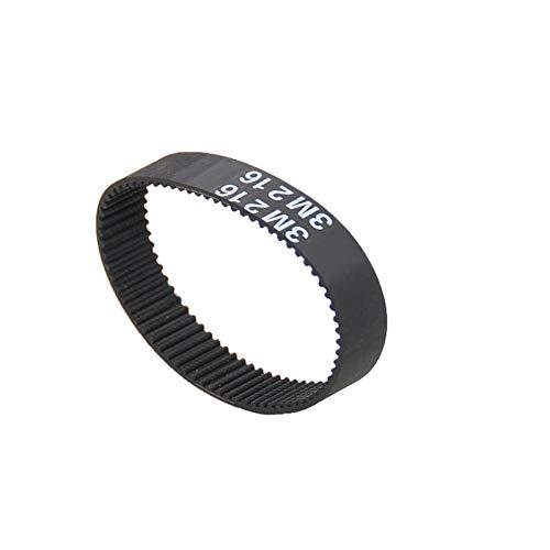 Gfpql WYanHua-Correa de distribución 1 unids HTD 3M 207 a 237mm, Cinturón de Temporización de Tiempo de Tiempo Cerrado Cinturones síncronos, Ancho 10mm 15mm, Repuestos de Calidad