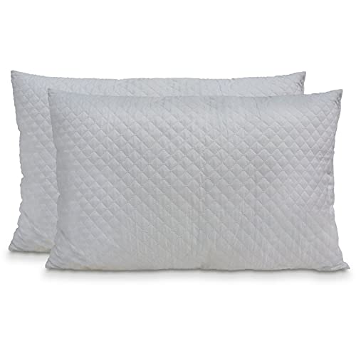 Egidioshop OFFERTISSIMA!!! 2 cuscini letto 45x70 altezza15 anallergico traspirante e confortevole
