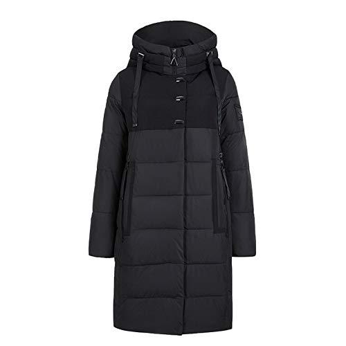 Yiwjby Chaqueta De Invierno para Mujer Chaqueta De PlumóN con Capucha Y Engrosamiento Informal Abrigo A Prueba De Viento Chaqueta Bio