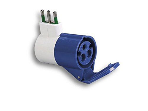 Fanton Spa FME73000 Adapter voor S17 tot 1p.CEE Blue