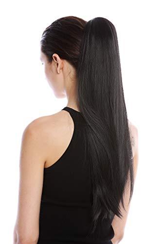 WIG ME UP ® - YZF-1094S-1B Extensión de pelo coleta peineta y...