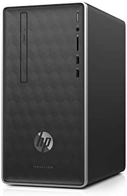 HP Pavilion Business Desktop PC 590 p0033w Intel Core i3 8100 up to 3 60 GHz 4GB DDR4 2400 SDRAM product image