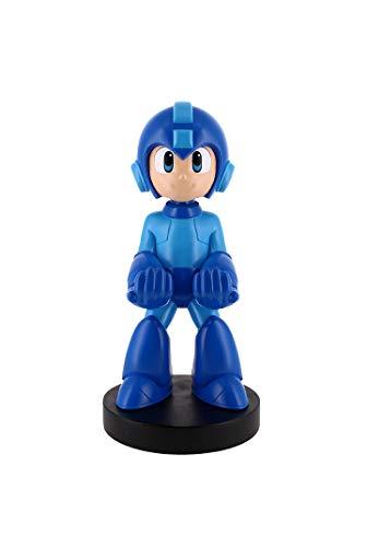 Exquisite Gaming - Cable guy Mega Man, soporte de sujeción y/o carga para mando de consola y/o smartphone de tu personaje favorito con licencia de Capcom (Xbox Series X)