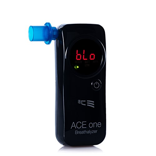 ACE One Alkoholtester Polizeigenau - Promille-Tester Alkomat mit 98,6{c91aa3d5fe8676c010d133b2426057becd24d560727fab5e3481da71707cf381}