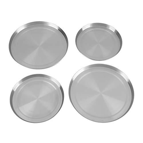 Cubiertas de la estufa, cubierta de la estufa eléctrica cubiertas de la cocina del horno de la cocina del anillo protector de acero inoxidable de la placa de gas resistente al óxido para la cocina
