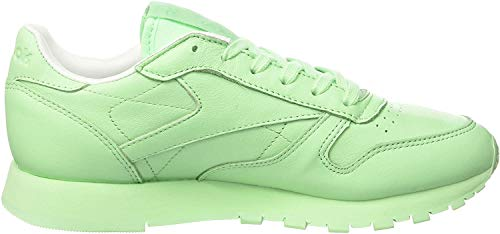 Reebok Damen X Spirit Classic Leather Sneakers, Grün (Mint Green/White), 38 EU