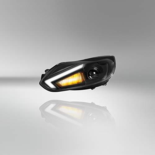Osram LEDriving XENARC, Scheinwerfer, Halogenersatz zur Umrüstung auf LED & Xenon, LEDHL105, für Linkslenkerfahrzeuge (1 Komplett-Set), Schwarz Einheitsgröße