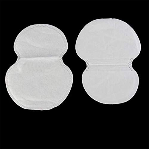 SISHUINIANHUA 10/30 / 50pcs été Coussins de Sueur aisselles sous Les aisselles désodorisants Autocollants absorbants jetables Patch Anti-Transpiration en Gros,10pcs