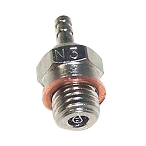 Dasorende N3 BujíA de Precalentamiento en Caliente para HSP 70117 1/10 1/8 RC Calesa CamióN Vertex SH Piezas del Motor Nitro