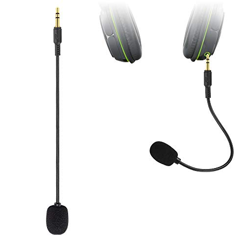 Ninge Mic Replacement 3.5mm for Headset - Turtle Beach Ear Force XO ONE Stealth Recon 50,450,400,520,Z60,500P