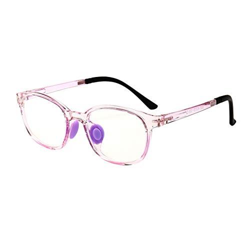 Professionel Kinder Brillen anti-Blaulicht Computerbrille Entspiegelten Brille Kinder Silikon Gläser
