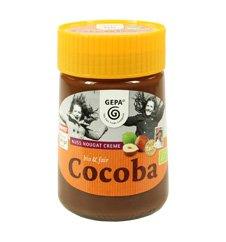 GEPA Bio Cocoba Nuss Nougat Creme - Brotaufstrich - 1 Karton (6 x 400g)