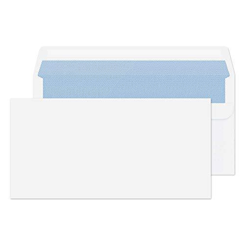 Purely Everyday 12772 Briefumschläge Selbstklebend Weiß DL 110 x 220 mm - 75 g/m²   1000 Stück