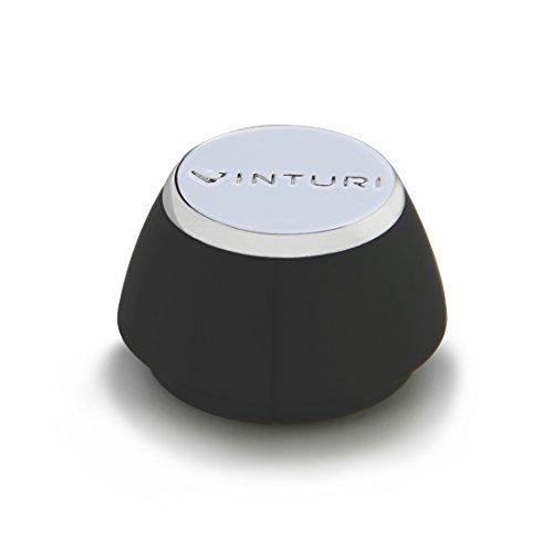 Vinturi V9041 Wine Foil Cutter Soft-grip for Wine Bottles, Black