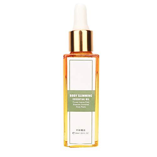 30ml 100% Pure Slimming Massage Öl, Ätherisches Öl Fettverbrennung Abnehmen Anti-Cellulite Massageöl, Anti Cellulite Massage Öl zum Abbau von Stress, Ätherisches Öl zum Abnehmen