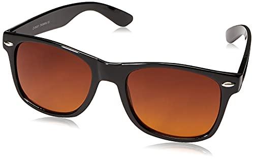 ZeroUV - Occhiali da sole - Wayfarer - Uomo Nero nero
