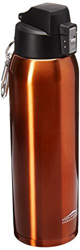Aquatix FlipTop Sport Bottle COMIN18JU009748 Aquatix FlipTop Double Walled Insulated Bottles, Stainless Steel, Burnt Orange