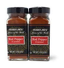 Trader Joe's Red Seattle Mall Pepper CAYENNE of oz 1.8 Pack 2 lowest price