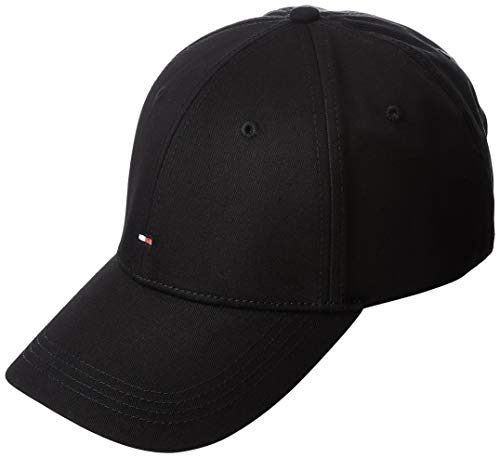 Tommy Hilfiger Herren Baseball Cap CLASSIC BB, Gr. One size, Schwarz (FLAG BLACK 083)