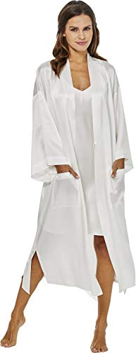Jadee damska podomka kimono 100% jedwab - 3 kolory -