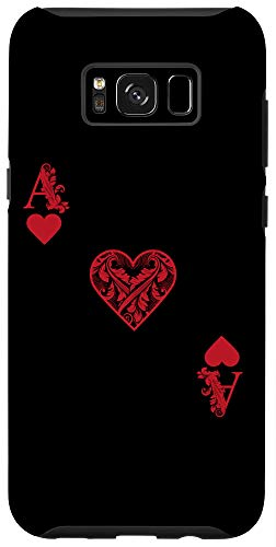 Galaxy S8+ Ace Of Hearts Costume - Funny Halloween Gift Case