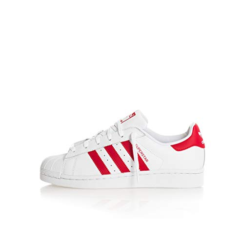 Adidas Superstar J Scarpe da fitness Unisex - Bambini, Bianco (Blanco 000), 36 EU