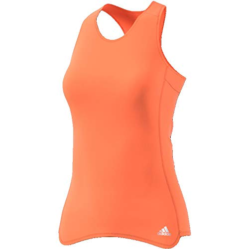 adidas RS Cup TNK W Camiseta, Mujer, Multicolor (Naranja), L