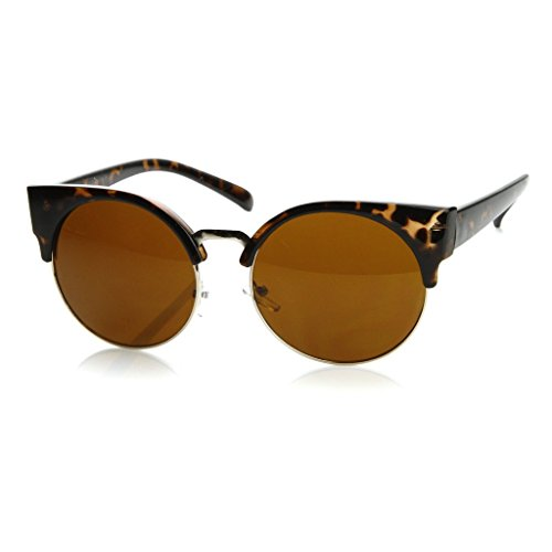 KISS Gafas de sol mod. MOON style RIHANNA - fashion MUJER diva rockstar VINTAGE superb - HAVANA