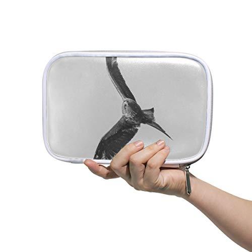 Malplena Trousse de maquillage multifonction Motif chouette volante