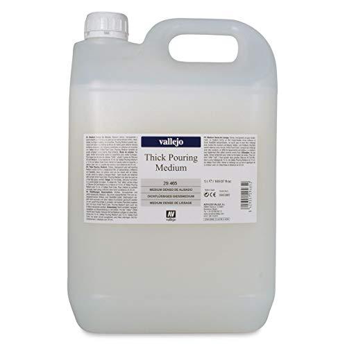 Vallejo Thick Pouring Medium - 5 liter