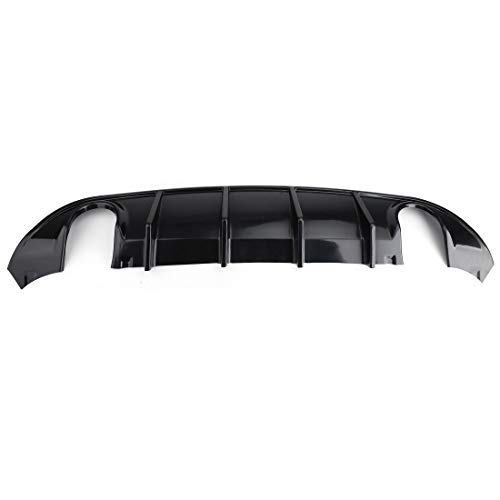 WFLNHB Rear Diffuser Bumper PP fit for 2015-2020 Dodge Charger SRT Style
