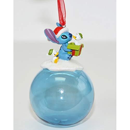 Disneyland Paris Stitch Christmas Bauble Ornament