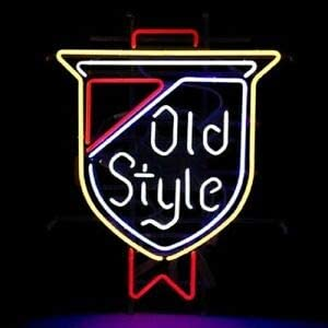 Amymami Beer Bar Old Style [Alternative dealer] Texas Neon Memphis Mall 17inx14in Sign Lamp B
