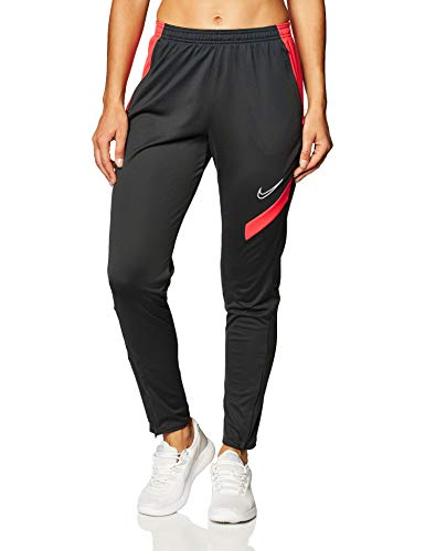 NIKE Mujer Pantalone Academy 20 Donna - Rosso Fluo Pantalón, Rosso Fluo, Small