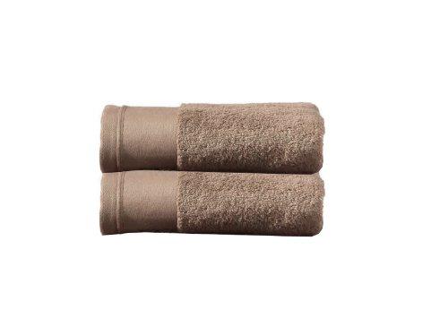 BLANC CERISE 600219 Drap de Bain Uni Coton Sable