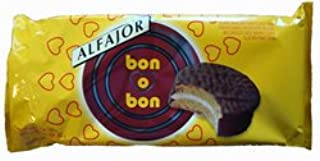 Bon O Bon Milk Chocolate Alfajores 2 Pack 6 Cookies Per Package