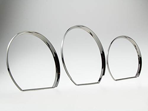 LETRONIX Black Chrom Tachoringe Tacho Ringe zum Clipsen geeignet für Fahrzeug Passat 35i Corrado T4