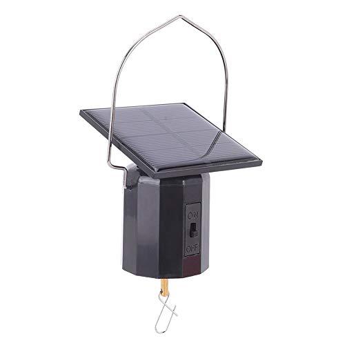 CHICIRIS Solar Wind Glockenspiel Motor, Farbwechsel Solarenergie Umweltfreundlicher Motor Wind Glockenspiel Ornament Hanging Rotating Motorfor für Windspiele Garden Home Decor