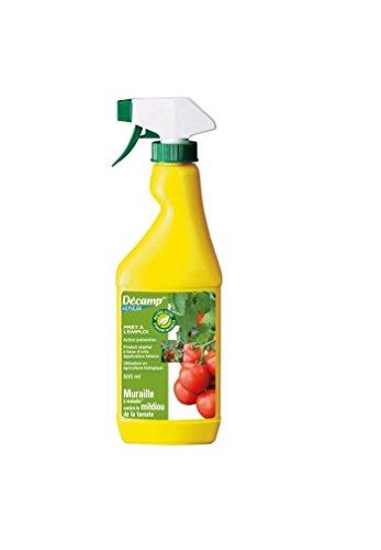 Décamp - Traitement barrière contre le mildiou de la tomate