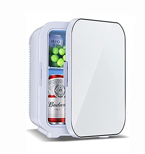 Mini Nevera 20 litros portatil ligero con función de Calentamiento Frigorífico pequeña AC/DC 12V 45W Minibar Congelador para Cosméticos Oficina Car Cámping standard