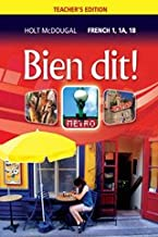 Bien Dit, Teachers Edition French 1, 1A, 1B