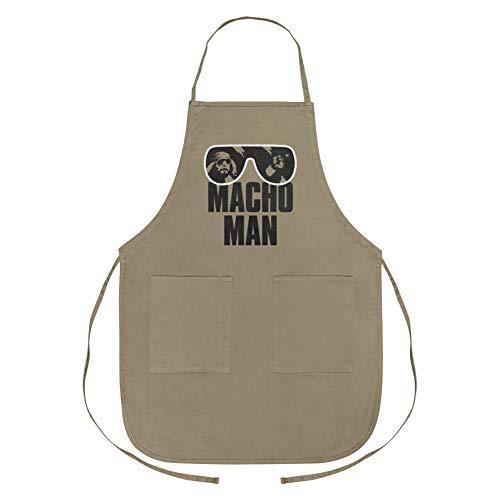 GRAPHICS & MORE WWE Macho Man Classic Logo Apron with Pockets