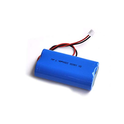 FCQLR Compatible para 7.4V 18650 Lithium Ion Rechargeable batería Pack 8.4V Li-Ion Cell 2200mah Protected para Speaker Audio Amplifier led Light