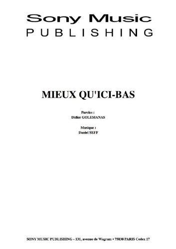 MIEUX QU\'ICI-BAS