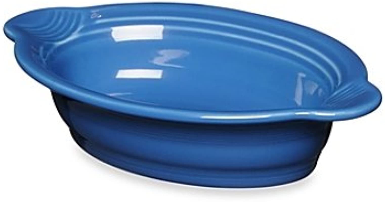 Fiesta 17 Oz Oval Individual Casserole Dish In Lapis