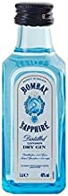 BOTELLITA GIN BOMBAY SAPPHIRE 5cl 47% VOL.