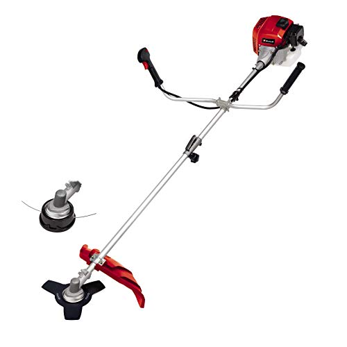 Einhell 3401973 GH-BC 43 AS Dual Purpose Petrol Brushcutter and Grass Trimmer with Autochoke, 1250 W, Black/Red, cc