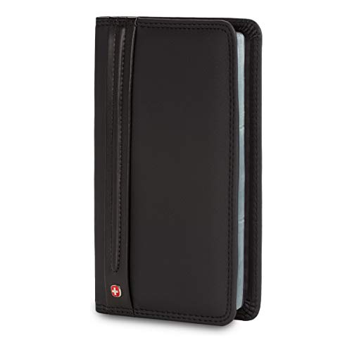 Wenger Luggage Diplomat Personal Card File 156, Black, One Size