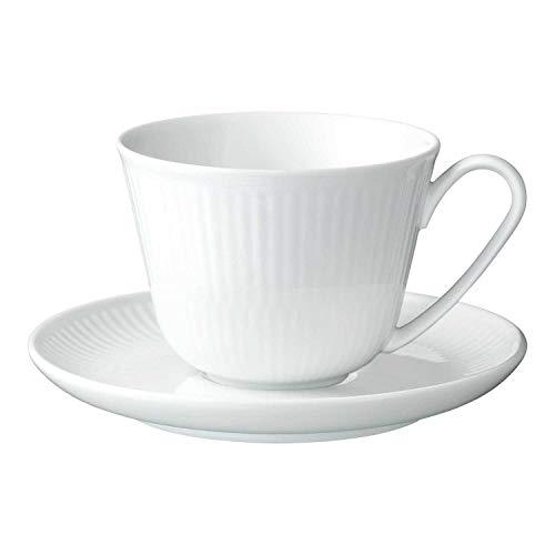 【正規輸入品】 ロイヤルコペンハーゲン ホワイトフルーテッド カップ & ソーサー 240ml 1016922